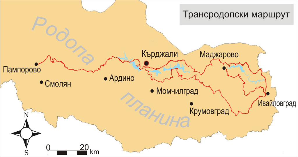 transrodopi map